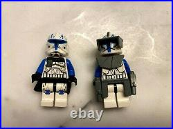 Lego Star Wars Captain Rex Minifigures from sets 7675 and 75012