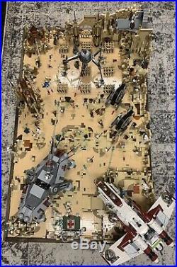 Lego Star Wars Clone Wars Battle Diorama