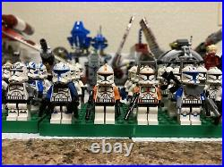 Lego Star Wars Clone Wars HUGE Collection, Republic Gunship, AT-TE, Cruiser, etc
