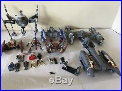 Lego Star Wars Clone Wars Lot. Used In Excellent Cond. Read Description