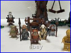 Lego Star Wars Ewok Village 10236 100% Complete with Instructions & ALL minifigs