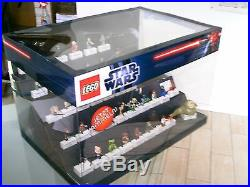 Lego Star Wars Figures Schaukasten presentation box worldwide