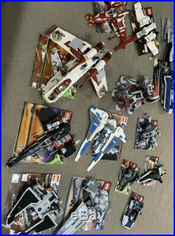 Lego Star Wars HUGE Lot 16+ SETS Figurines Manuals 75021 7675 9500 Stickers MORE