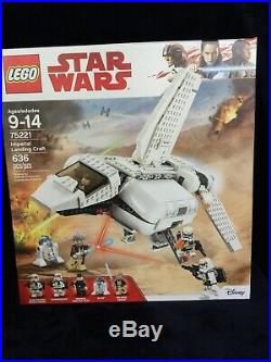 Lego Star Wars Imperial Landing Craft (75221), new, sealed bags, free shipping