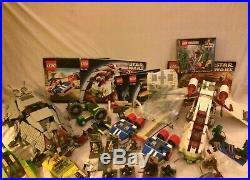 Lego Star Wars Lot Pt 7121 7186 4482 7103 7133 7163 At-te Republic Gunships Stap