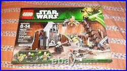 Lego Star Wars Lot of (4) Brand New Sealed Kits (75017, 75169, 75918, 9488)