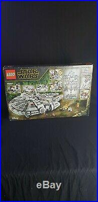 Lego Star Wars Millennium Falcon 75257 Complete and Factory Sealed