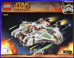 Lego Star Wars Rebels 75053 The Ghost Complete W Instructions