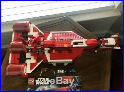 Lego Star Wars Republic Cruiser Set 7665 Complete With Instructions
