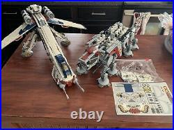 Lego Star Wars Republic Dropship with AT-OT Walker (10195) 100% complete PLUS