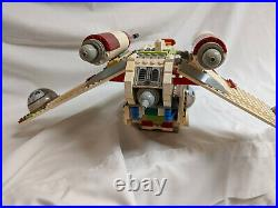 Lego Star Wars Republic Gunship 7163 used good condition 99% complete