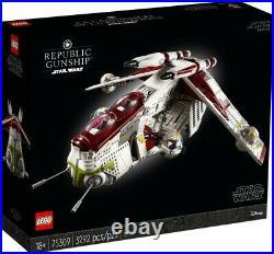 Lego Star Wars Republic Gunship 75309 (Brand New, High Quality, Mint Condition)