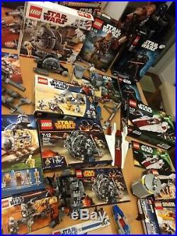 Lego Star Wars Riesen Sammlung 17 Sets BA und Box Darth Vader Konvolut + Zubehör