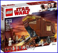Lego Star Wars Sandcrawler Set #75220 Brand New in Box
