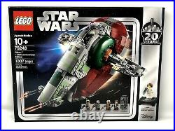 Lego Star Wars Slave 1 20th Anniversary 75243 Leia Boba Fett Mandalorian NEW