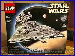 Lego Star Wars Star Destroyer 10030 Ucs Very Rare