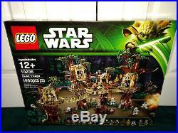 Lego Star Wars UCS 10236 Ewok Village + 75098 Assault On Hoth BOTH MISP RETIRED