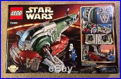 Lego Star Wars UCS Slave 1 75060 RETIRED, NEW, SEALED Boba Fett