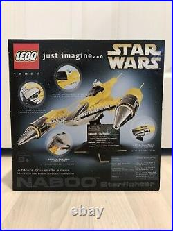 Lego Star Wars Ucs 10026 Naboo Starfighter New In Sealed Box