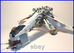 Lego Star wars Clone Wars Republic Dropship/AT-OT Set 10195 Read Description