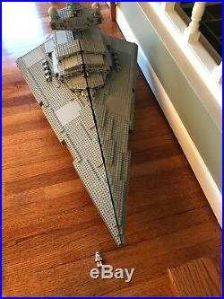 Lego Stars Wars 10030 Imperial Star Destroyer 100% Complete With Manual And More