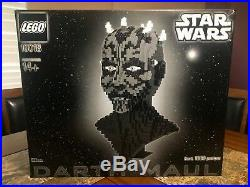 Lego Ucs Darth Maul Bust 10018 New Sealed Very Rare