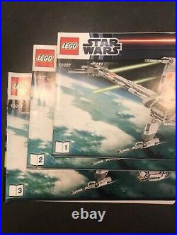 Lego star wars UCS b-wing starfighter 10227