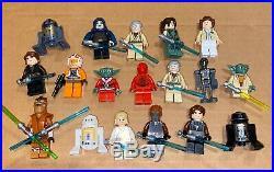 Lego star wars lot RARE 100+ LEGO MINIFIGURES LOT