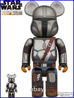 Medicom Toy BE@RBRICK the MANDALORIAN Star wars 400% 100% set figure bearbrick