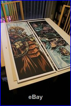 Mondo STAR WARS The Bounty Hunters by Ken Taylor Set of 6 Rare sold out