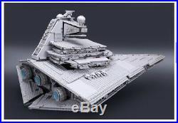 NEW HUGE Imperial Star Destroyer Star Wars 10030 / 05027 Custom Set