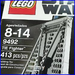 NEW LEGO Star Wars TIE Fighter (9492) In Factory Sealed Box