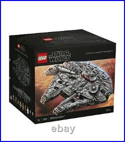 NEW LEGO Star Wars UCS MILLENNIUM FALCON 75192 In Hand For Fast Shipping