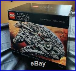NEW LEGO Star Wars Ultimate Millennium Falcon 75192 Building Kit. Still Sealed