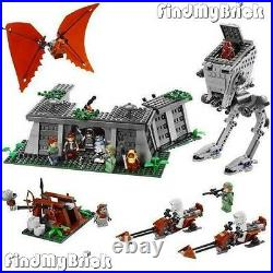 NEW Lego 8038 Battle of Endor Included 12 Minifigures Sealed Brand NEW