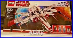 NEW SEALED LEGO 8088 Star Wars ARC-170 Starfighter with4 minifigures! (RARE)