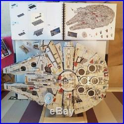 NEW Star Wars Millennium Falcon UCS 8445pcs Collectors Series 75192 Custom Set