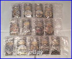 NEW Star Wars Planets Pin of the Month Complete Set Limited LE Disney Fett RARE