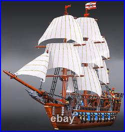 New Imperial Flagship Pirates 10210 UA Set Free Shipping Educational Toy