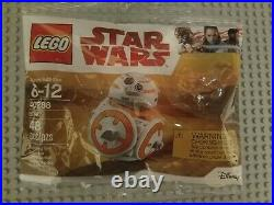 New LEGO Star Wars Polybag lot of 9! RARE