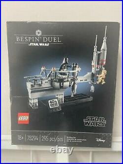 New Sealed Lego Star Wars 75294 Bespin Duel