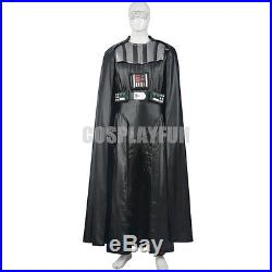 New Star Wars Darth Vader Cosplay Costume Full Set