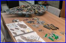 New UCS Space wars ship Falcon 2.0 custom building set 75192 complete kit