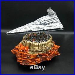 ORIGINAL HUGE 18916 Star Wars 5098pcs Star Destroyer over Jedha City Custom set