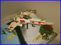 RARE Early LEGO Star Wars Store Display FALCON TIE X WING DAGOBAH SNOWSPEEDER
