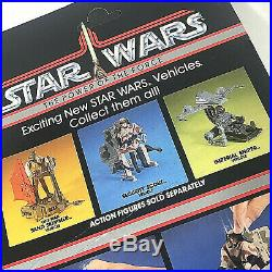 Rare SET of 3 Vintage STAR WARS Power Of Force Mini Rig Vehicles POTF 1984 MOC