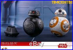 Ready Hot Toys MMS442 Star Wars The Last Jedi 1/6 BB-8 & BB-9E + Mouse Droid Set