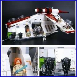 Republic Gunship 75021 Star Wars Equivalent Lego Vaisseau Spatial Rare Neuf FR