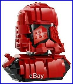SDCC 2019 LEGO Star Wars Exclusive Sith Trooper Bust 77901 CONFIRMED