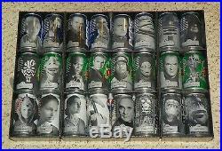 STAR WARS Episode 1 Exclusive Pepsi / Mt Dew 24 Can Set with Display Case